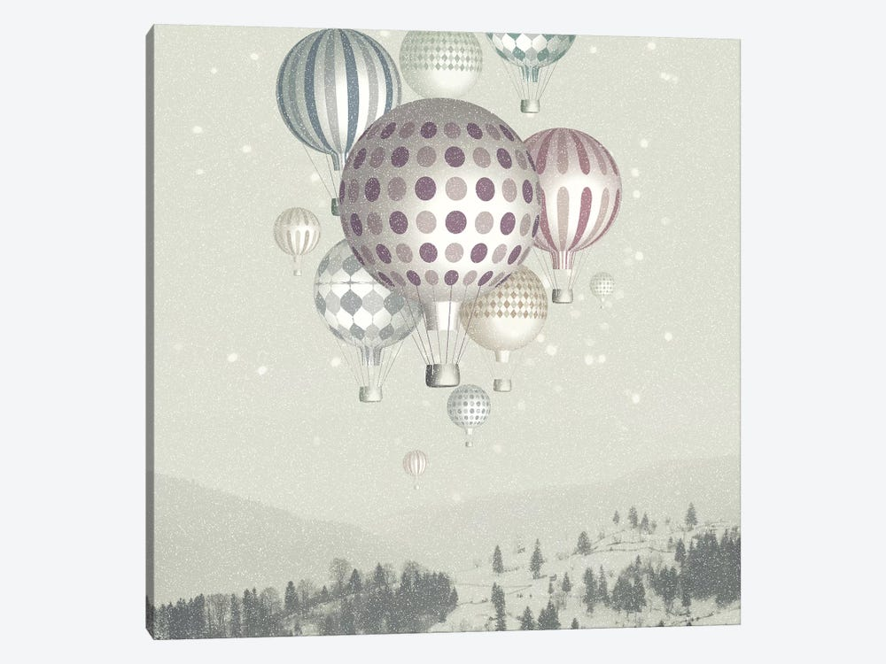 Winter Dreamflight by Paula Belle Flores 1-piece Canvas Artwork