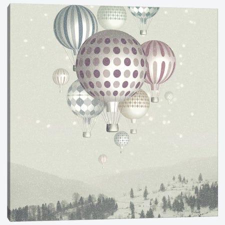 Winter Dreamflight Canvas Print #PBF88} by Paula Belle Flores Canvas Wall Art