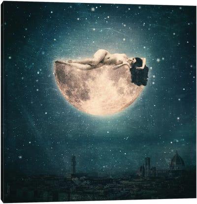 Moon Reverie Canvas Art Print