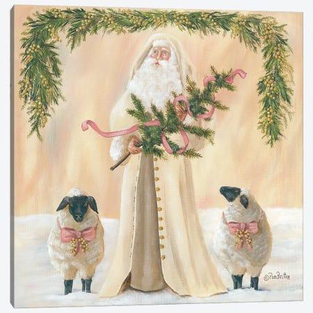 A Golden Christmas     Canvas Print #PBR10} by Pam Britton Art Print