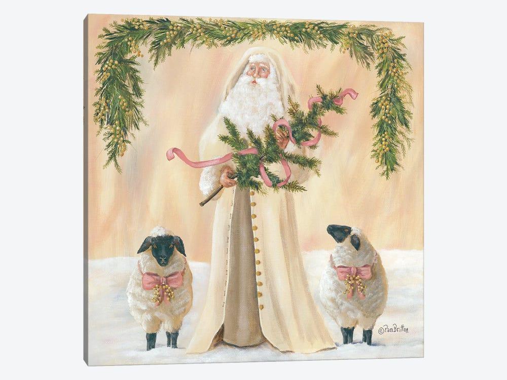 A Golden Christmas     by Pam Britton 1-piece Canvas Art Print