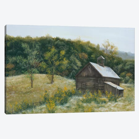 Barn in Vermont Canvas Print #PBR19} by Pam Britton Art Print