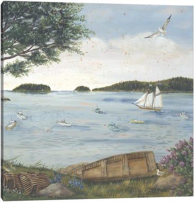 A Quiet Harbor Canvas Art Print