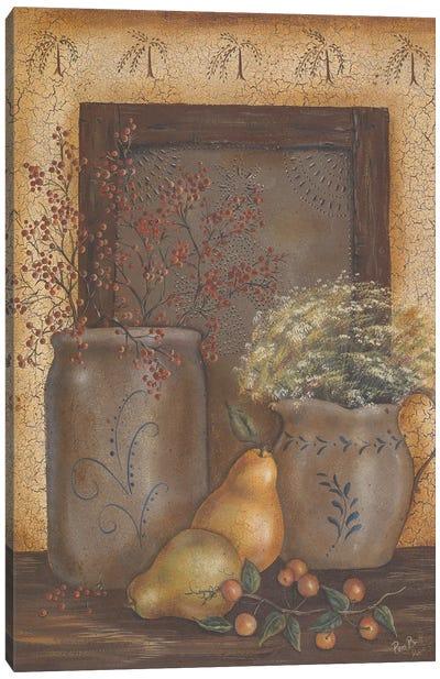 Crock Tin Panel Canvas Art Print