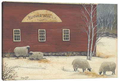 Hartwick Wool Co Canvas Art Print