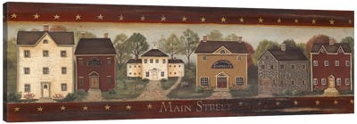 Main Street Canvas Art Print