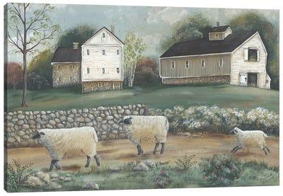 Pennsylvania Farm Canvas Art Print