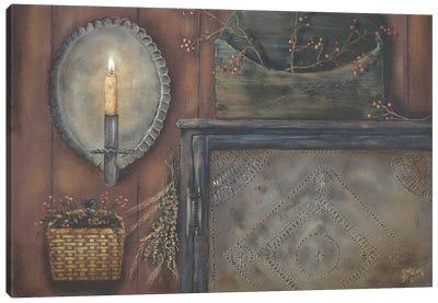 Tin Sconce Canvas Art Print