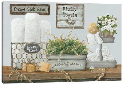 Fluffy Towels Canvas Art Print