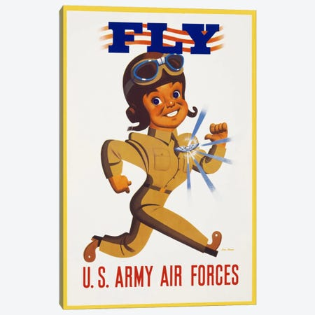 Fly U.S. Army Air Forces Canvas Print #PCA107} by Print Collection Canvas Print