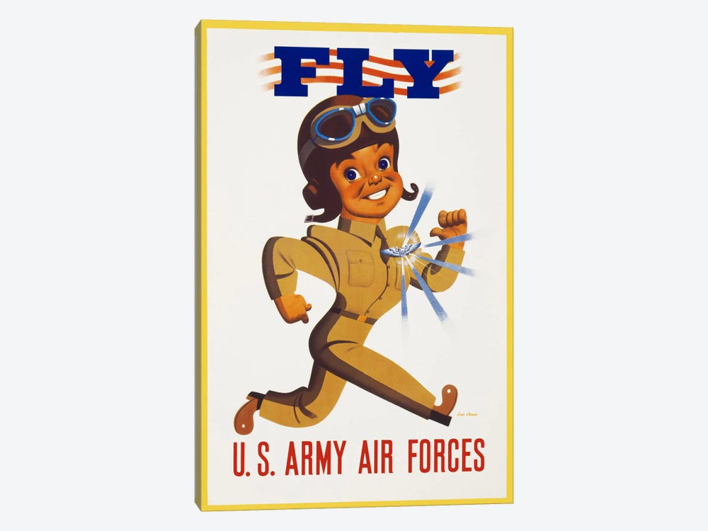 Fly U.S. Army Air Forces by Print Collection 1-piece Art Print