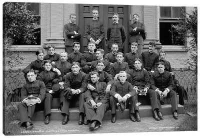 Group of Cadets, U.S. Naval Academy Canvas Print #PCA113