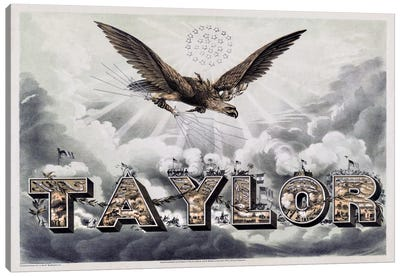 Taylor's Victories Canvas Art Print
