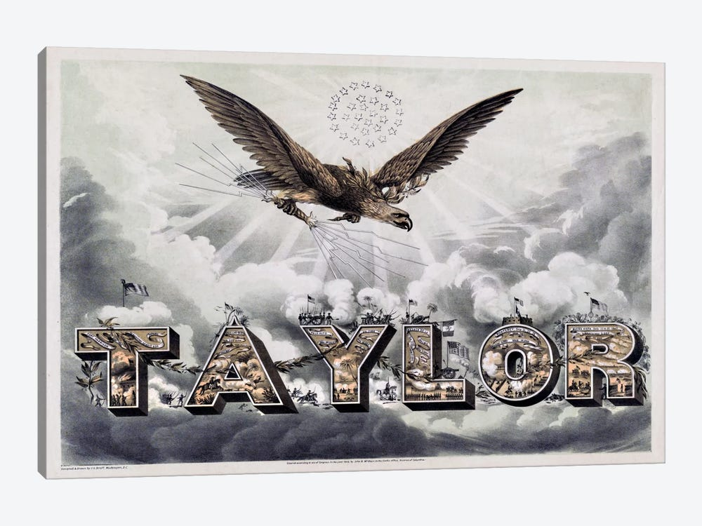 Taylor's Victories by Print Collection 1-piece Canvas Art Print