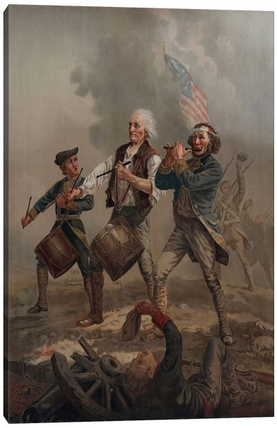 Yankee Doodle 1776 Canvas Print #PCA117
