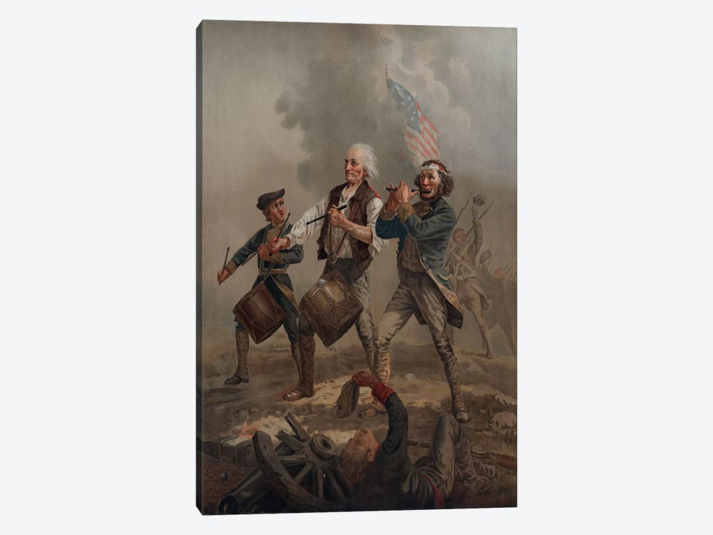 Yankee Doodle 1776 by Print Collection 1-piece Canvas Art