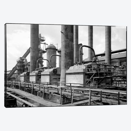 Sloss-Sheffield Steel & Iron Plant, Birmingham, Alabama Canvas Print #PCA145} by Print Collection Canvas Print