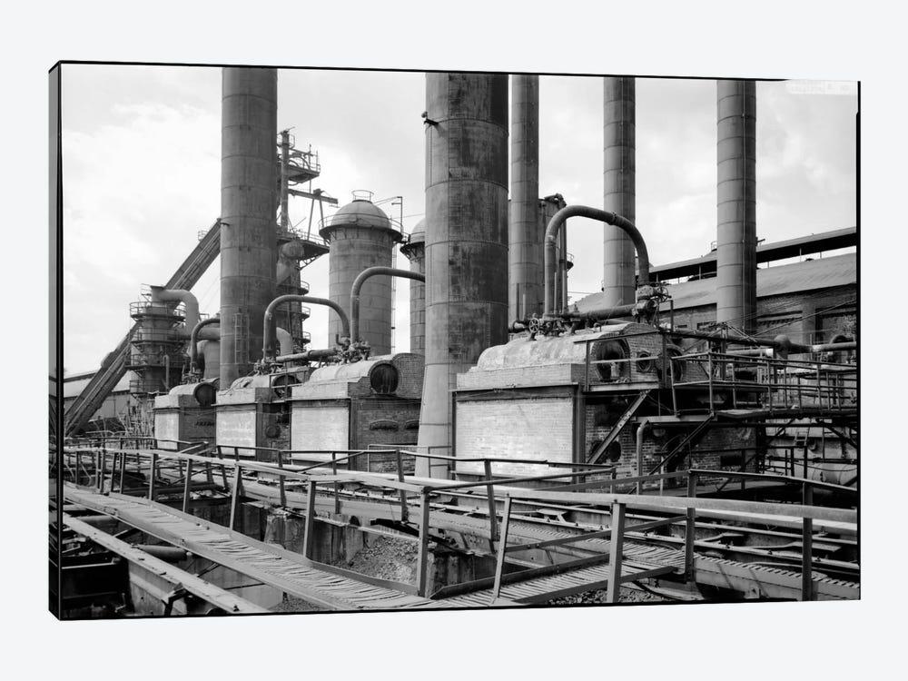 Sloss-Sheffield Steel & Iron Plant, Birmingham, Alabama by Print Collection 1-piece Canvas Print