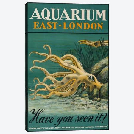 Aquarium, East-London Canvas Print #PCA164} by Print Collection Canvas Art Print