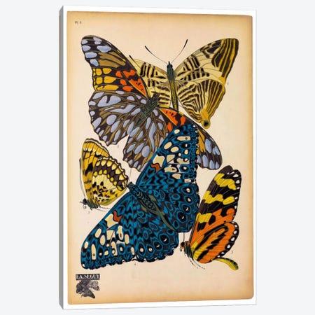 Butterflies Plate 11, E.A. Seguy Canvas Print #PCA172} by E.A. Séguy Canvas Art Print
