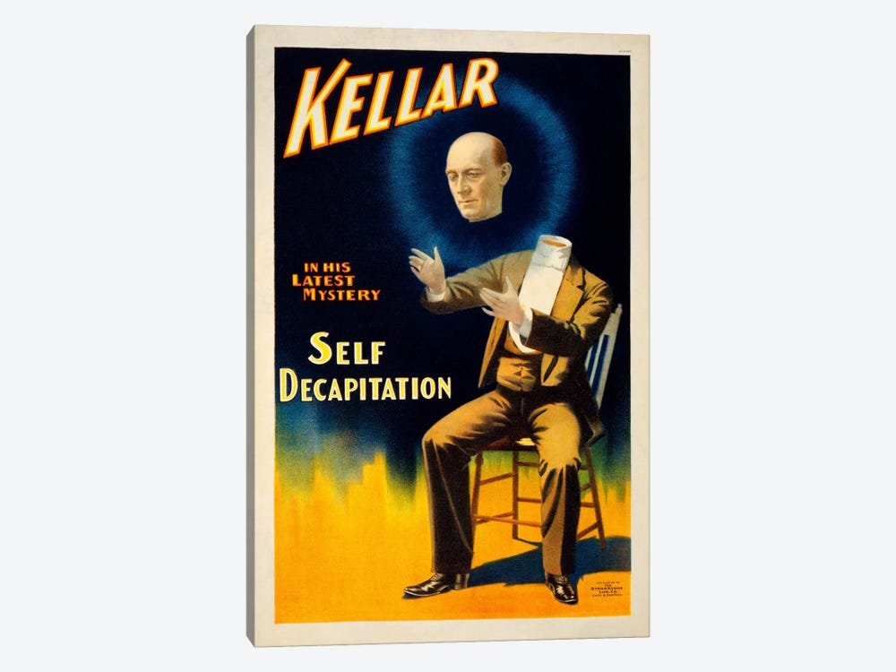 Kellar in his Latest Mystery by Print Collection 1-piece Art Print