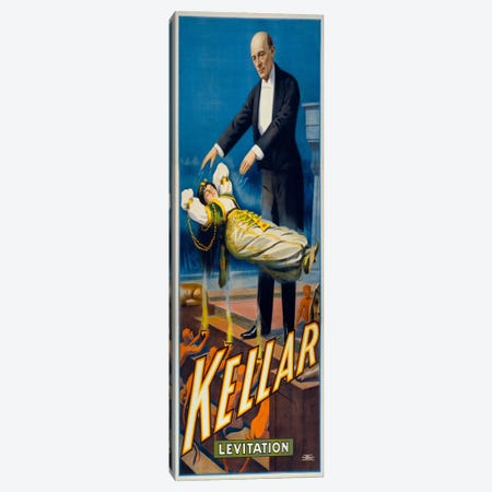 Kellar Levitation Canvas Print #PCA284} by Print Collection Canvas Wall Art