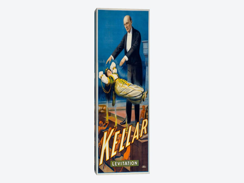 Kellar Levitation by Print Collection 1-piece Canvas Wall Art