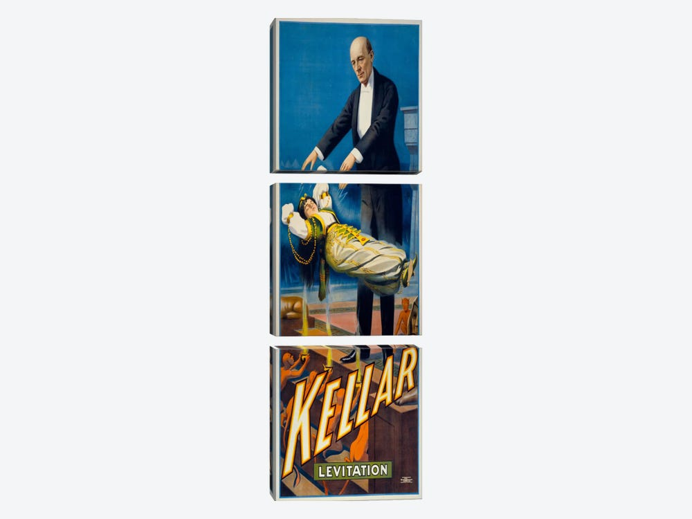 Kellar Levitation by Print Collection 3-piece Canvas Artwork
