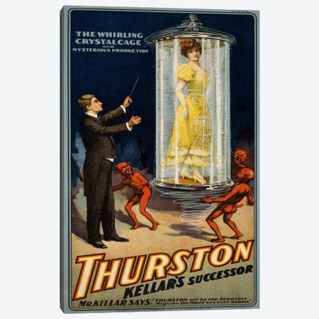 Thurston Kellar's Successor Canvas Print #PCA288} by Print Collection Art Print