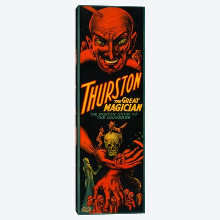 Thurston the Great Magician Canvas Print #PCA289} by Print Collection Canvas Art Print