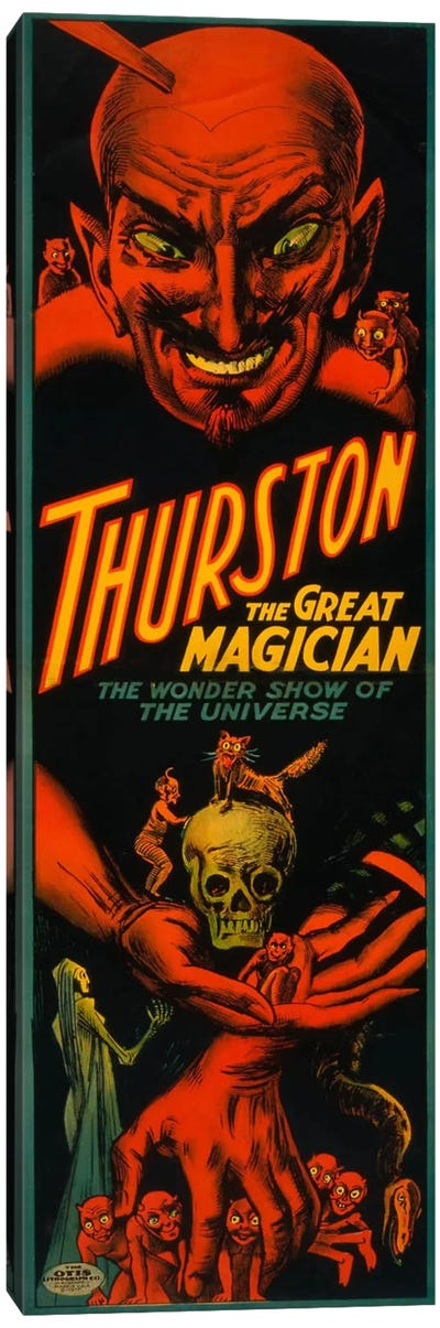 Thurston the Great Magician Canvas Print #PCA289