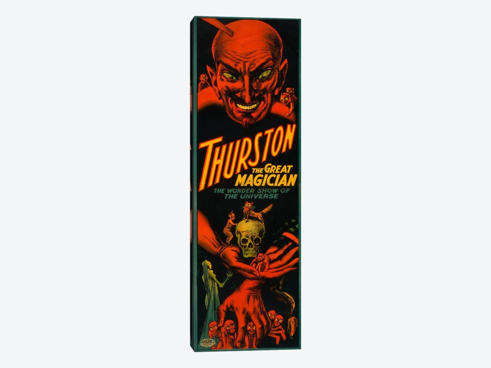 Thurston the Great Magician by Print Collection 1-piece Canvas Art Print