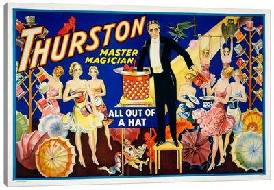 Thurston, Master Magician Canvas Print #PCA292