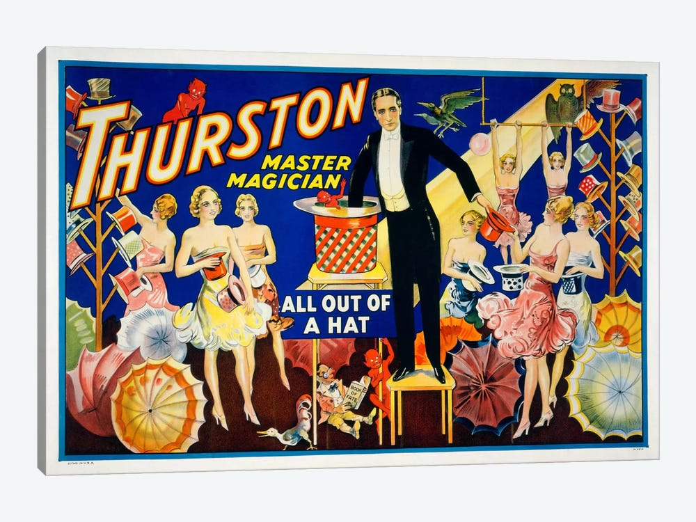 Thurston, Master Magician by Print Collection 1-piece Art Print