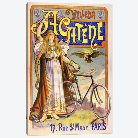 Acaténe Velleda Canvas Print #PCA295} by Print Collection Art Print