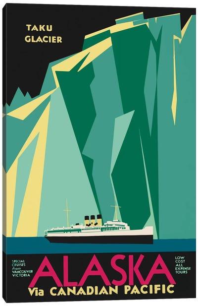 Alaska Taku Glacier Canvas Art Print