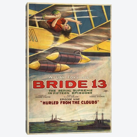 Bride 13, The Movie Canvas Print #PCA302} by Print Collection Canvas Artwork