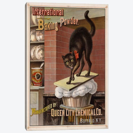 Catastrophe in the Kitchen, 1885 Canvas Print #PCA306} by Print Collection Art Print