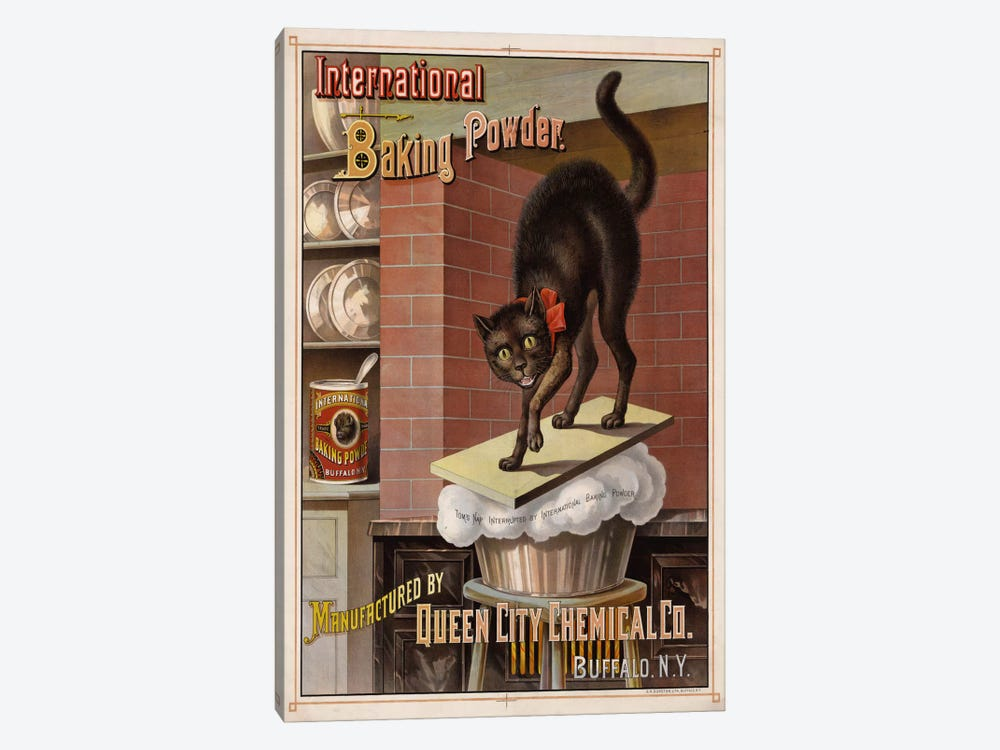Catastrophe in the Kitchen, 1885 by Print Collection 1-piece Canvas Print