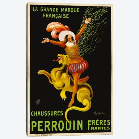 Chaussures Perrouin Fréres Canvas Print #PCA307} by Print Collection Canvas Print