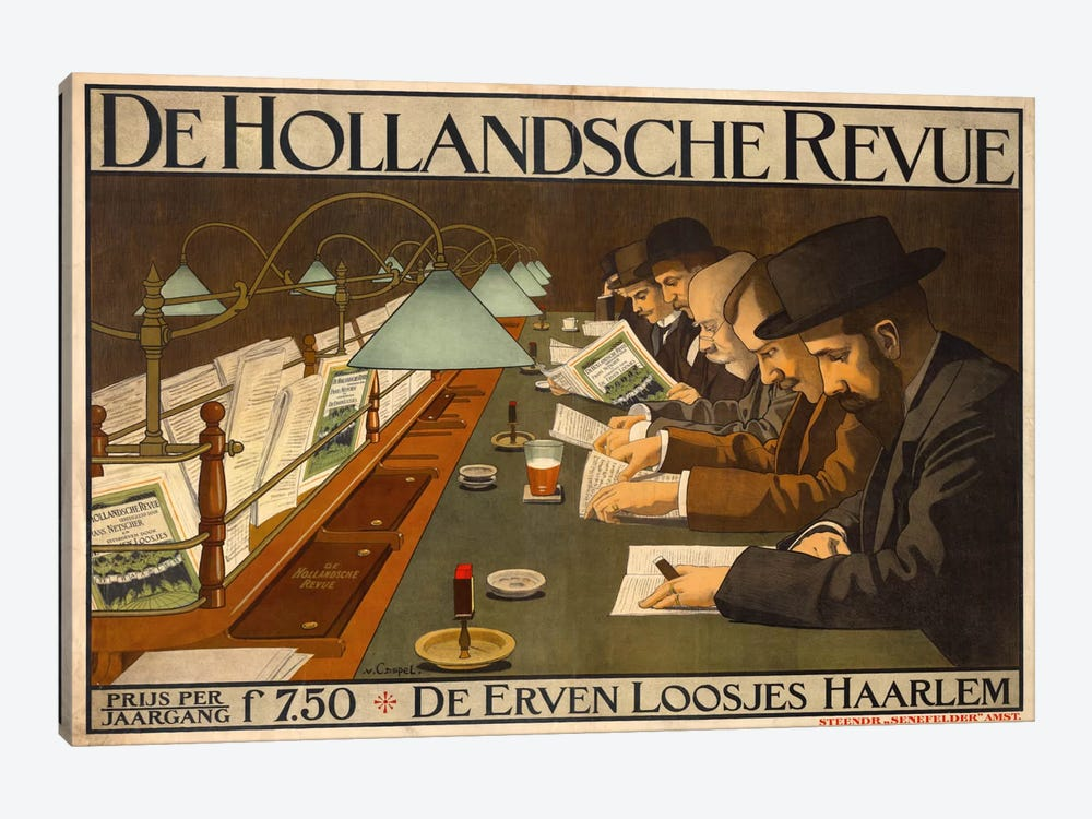 De Hollandsche Revue by Print Collection 1-piece Art Print