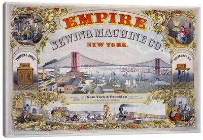 Empire Sewing Machine Co. Canvas Print #PCA327