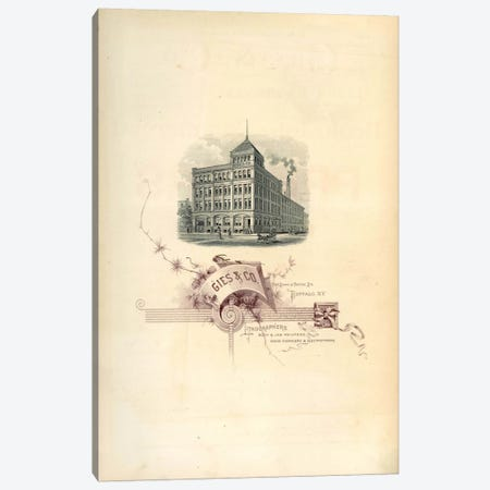 Gies & Co Lithographers Canvas Print #PCA335} by Print Collection Canvas Wall Art