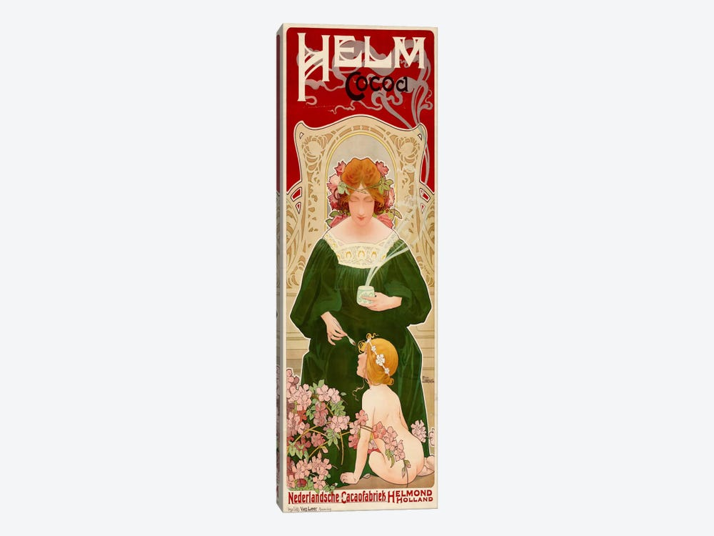 Helm Cocoa, Holland by Print Collection 1-piece Canvas Art Print