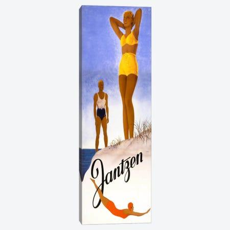 Jantzen Yellow Bikini Canvas Print #PCA346} by Print Collection Canvas Print