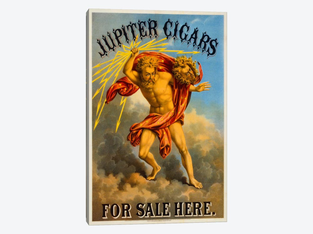Jupiter Cigars For Sale Here by Print Collection 1-piece Art Print