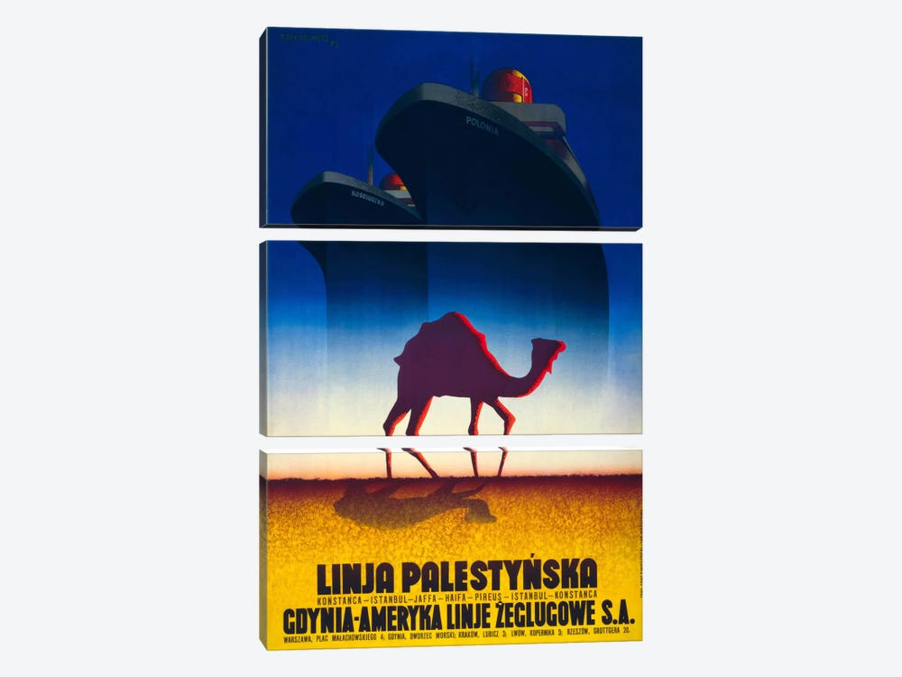 Linja Palestynska by Print Collection 3-piece Canvas Print