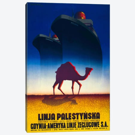 Linja Palestynska Canvas Print #PCA353} by Print Collection Art Print