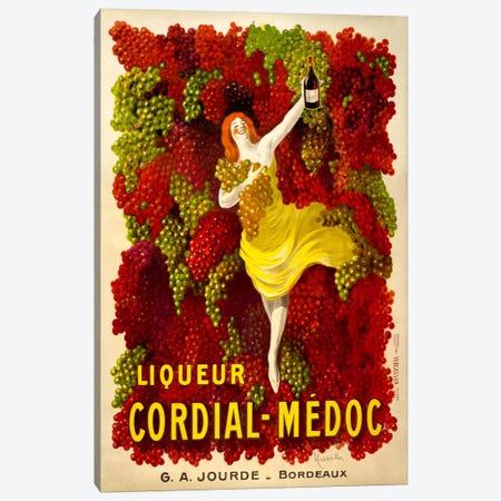 Liquer Cordial-Médoc, G. A. Jourde - Bordeaux Canvas Print #PCA354} by Print Collection Canvas Artwork