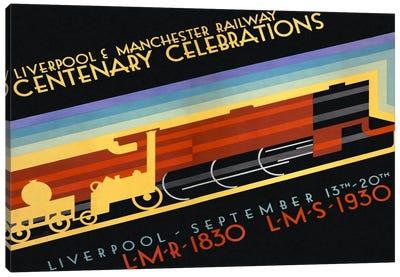 Liverpool & Manchester Railway Canvas Print #PCA355